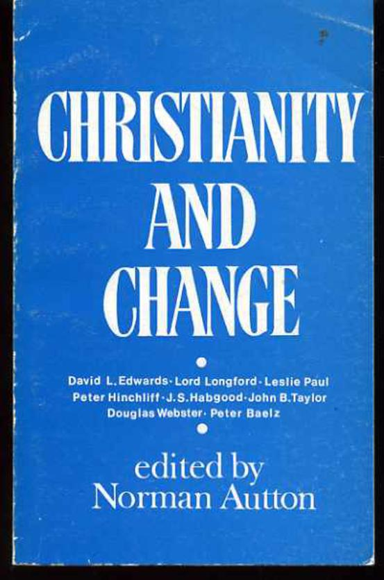 Image for Christianity and Change