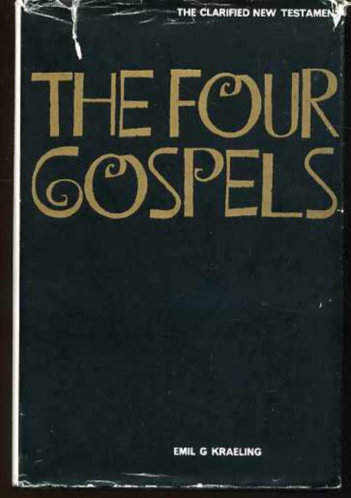 Image for The Four Gospels : The Clarified New Testament Vol.1.