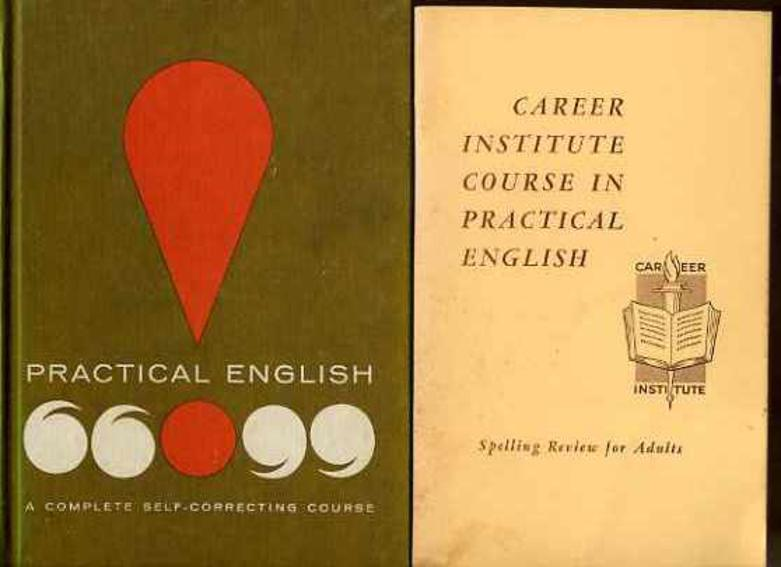 Image for Practical English 2 Volumes + Further Box Containing 13 Further Career Institute in Practical English Booklets