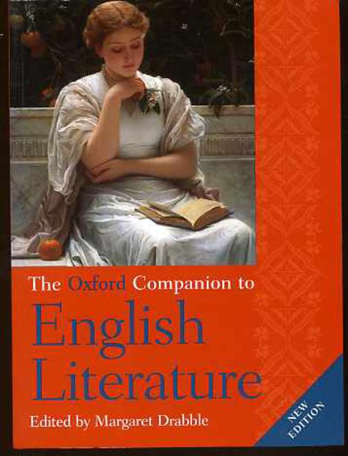 Image for The Oxford Companion to English Literature