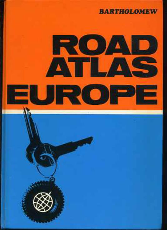 Image for Road Atlas of Europe
