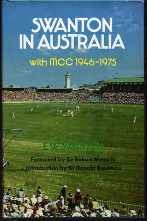 Image for Swanton in Australia with MCC, 1946-1975
