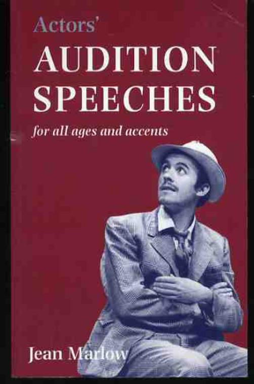 Image for Actors' Audition Speeches: For All Ages, Speeches and Dialects