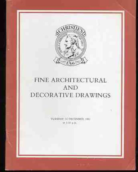 Image for Fine Architectural and Decorative Drawings