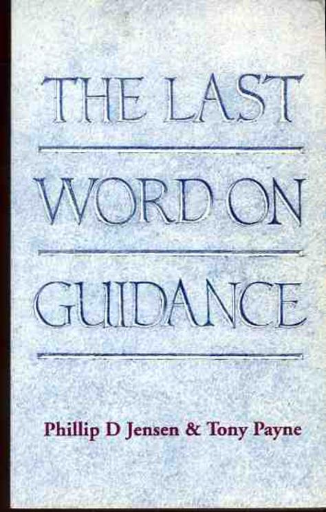 Image for Last Word on Guidance