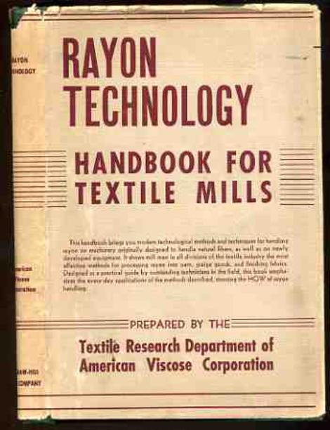 Image for Rayon Technology Handbook for Textile Mills