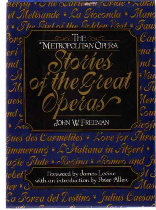 Image for Metropolitan Opera: Stories of the Great Operas