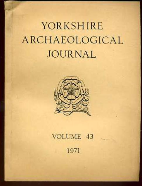 Image for The Yorkshire Archaeological Journal Volume 43, 1971