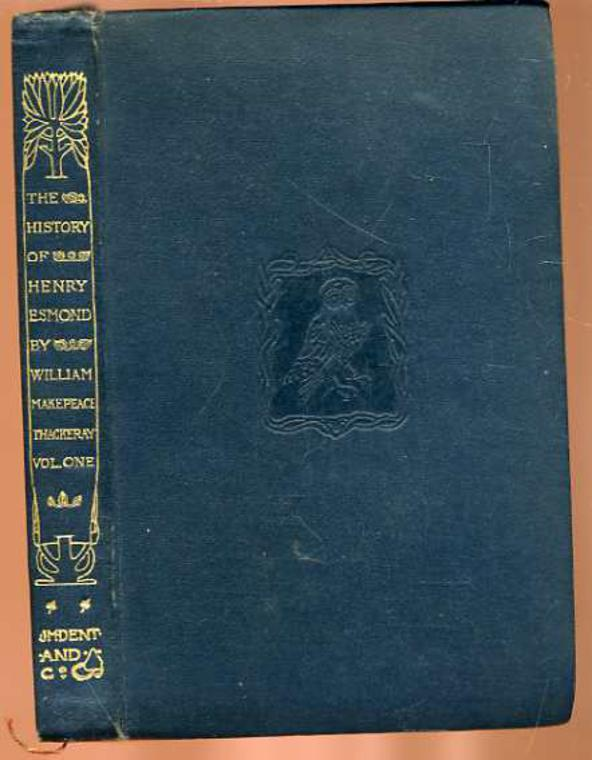 Image for The History Of Henry Esmond : Volume 1
