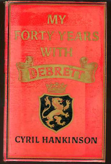Image for My Forty Years with Debrett