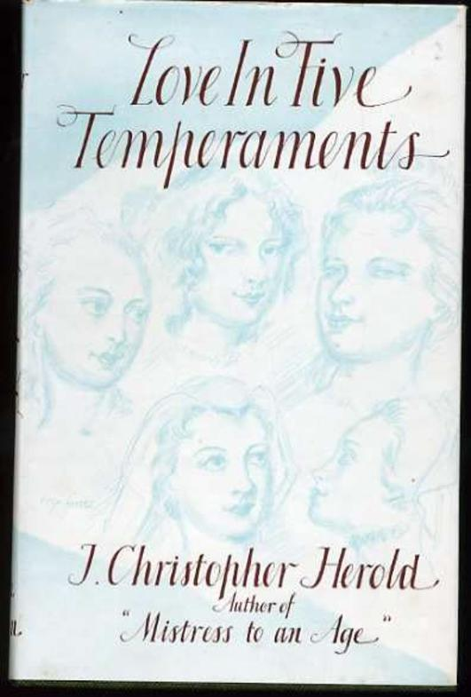 Image for Love in Five Temperaments