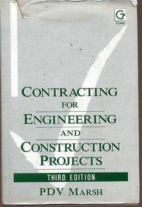 Image for Contracting for Engineering and Construction Projects