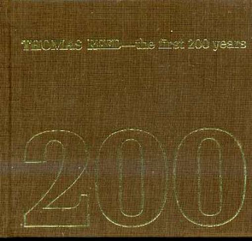 Image for Thomas Reed - the First 200 Years
