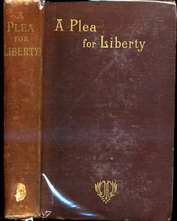 Image for A Plea for Liberty