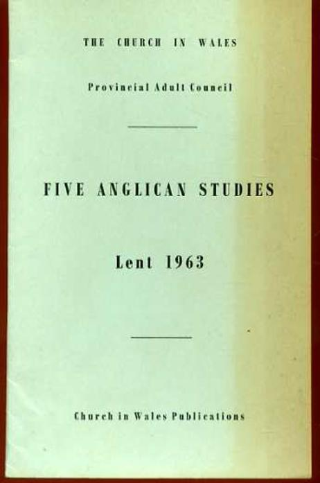 Image for Five Anglican Studies