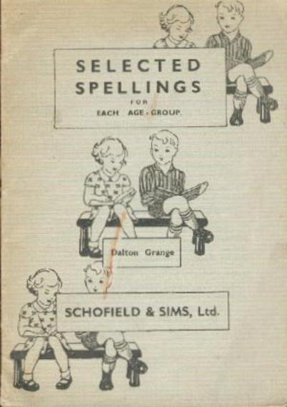 Image for Selected Spellings for Each Age Group
