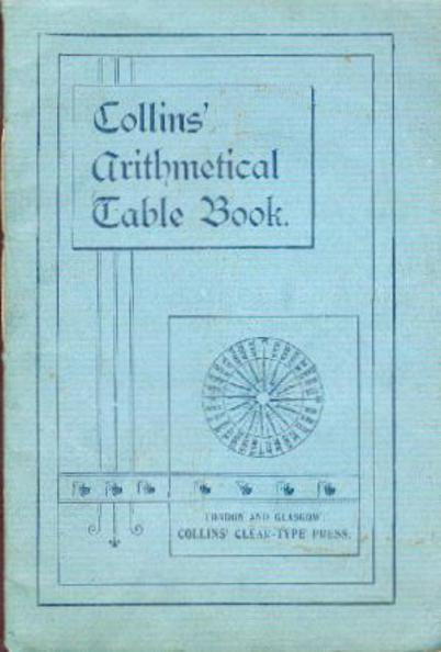Image for Collins' Arithmetical Table Book
