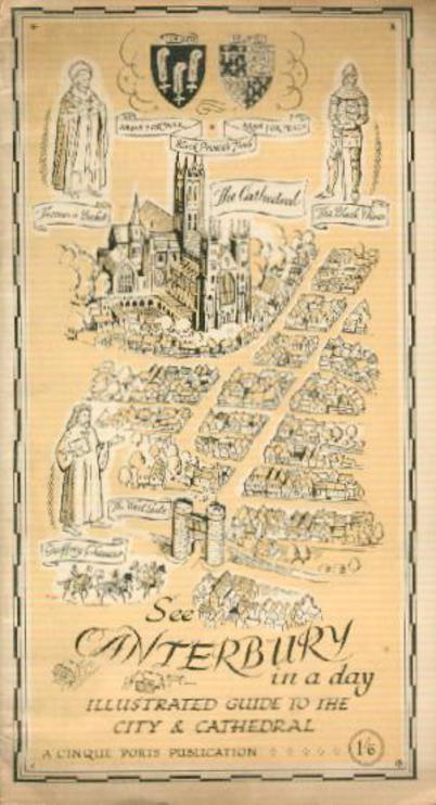 Image for See Canterbury in a Day :Tourist Handbook