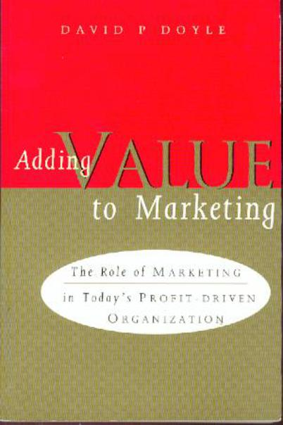 Image for Adding Value to Marketing