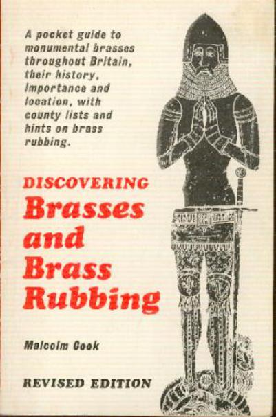 Image for Discovering Brasses and Brass Rubbing