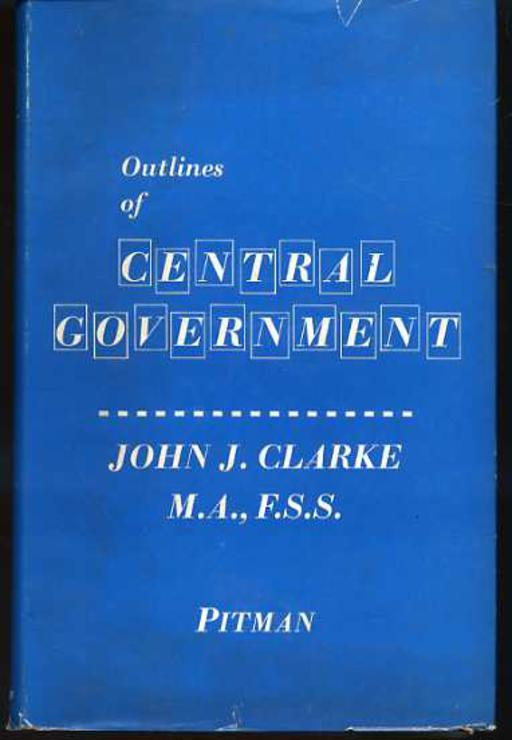 Image for Outlines of Central Government