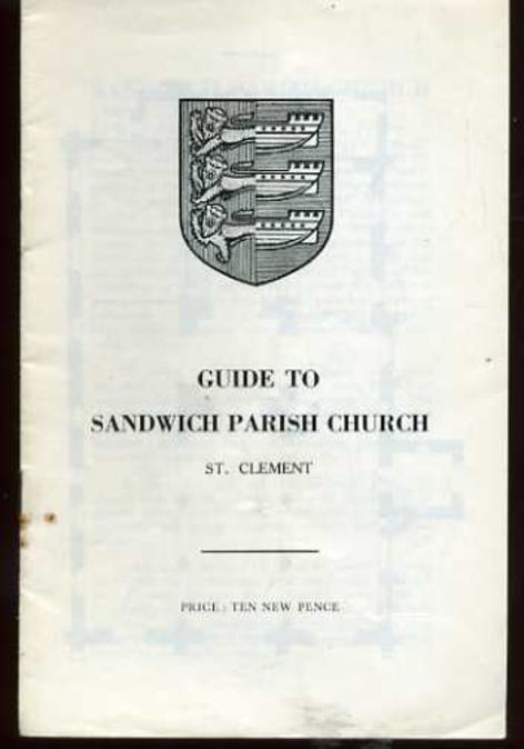 Image for Guide to Sandwich Parish Church, St. Clement