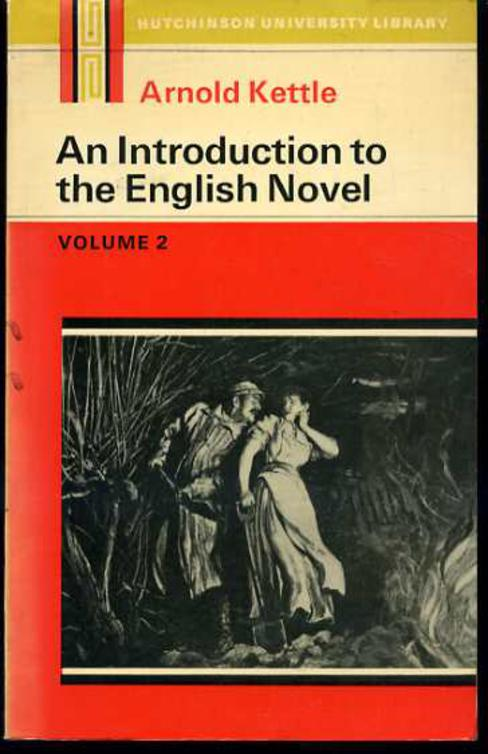 Image for Introduction to the English Novel : Volume 2