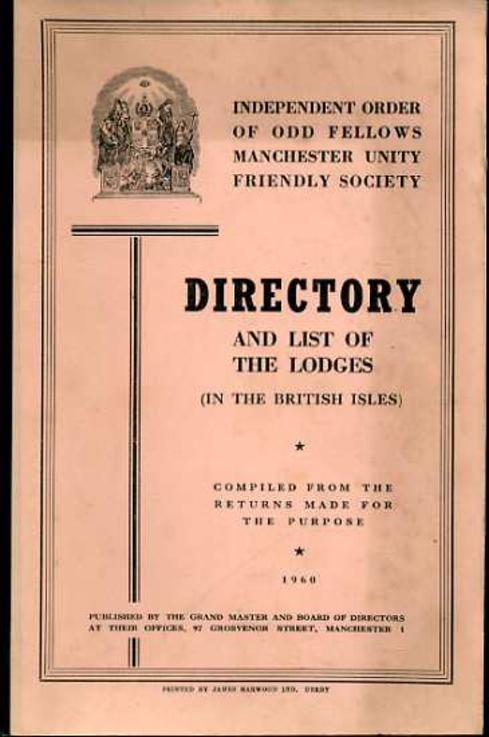 Image for Directory and List of the Lodges (in the British Isles)
