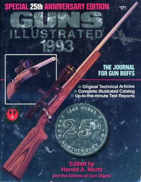 Image for Guns Illustrated 1993 - Special 25th Anniversary Edition