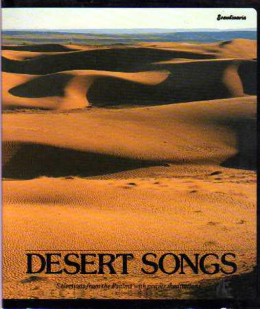 Image for Desert Songs - Selections from the Psalms