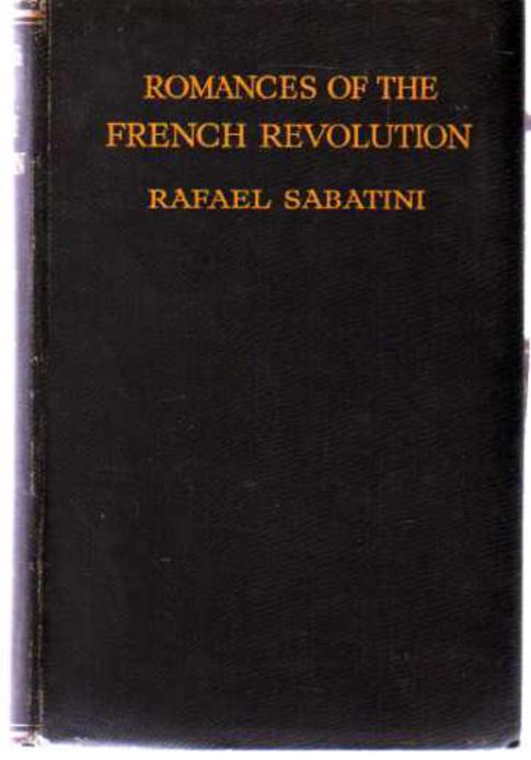 Image for Romances of the French Revolution