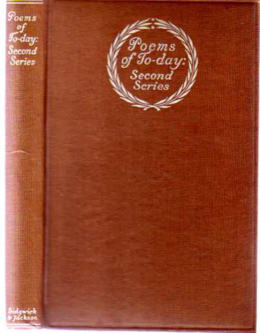 Image for Poems of To-day Second Series