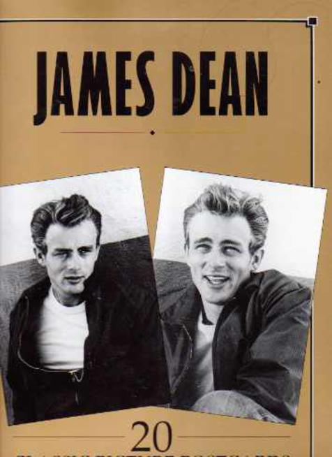 Image for James Dean : 20 Classic Postcards