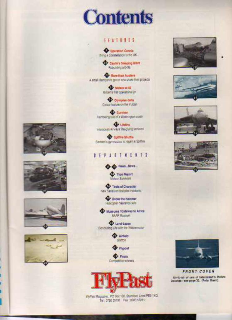 Image for FlyPast Magazine March 1993 No 140