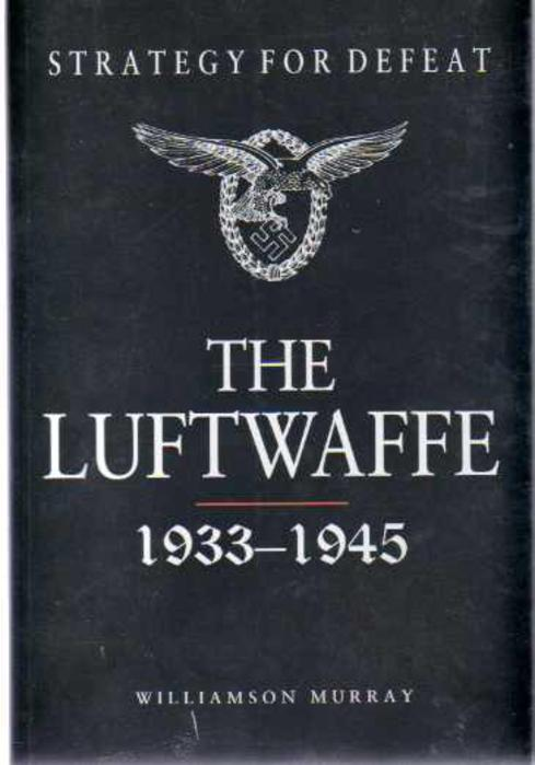 Image for Strategy for Defeat the Luftwaffe 1933-1945