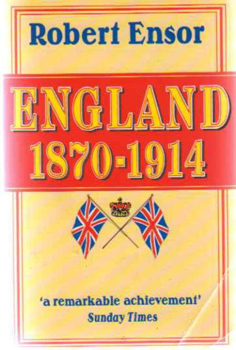 Image for England 1870-1914