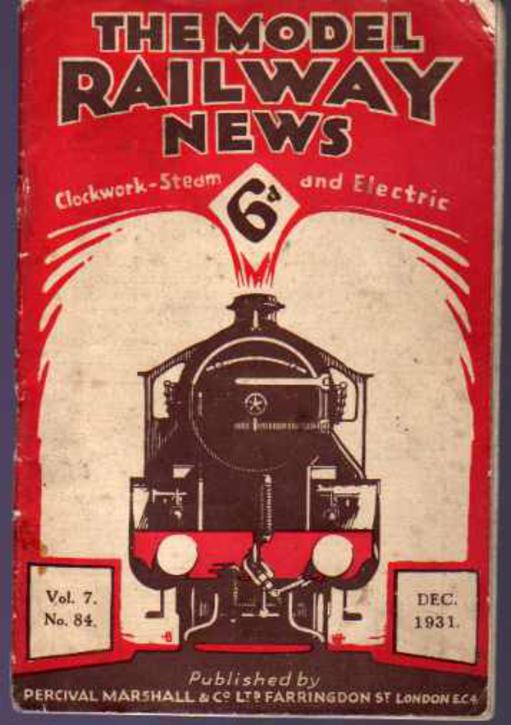Image for The Model Railway News - Vol 7 No 84 December 1931