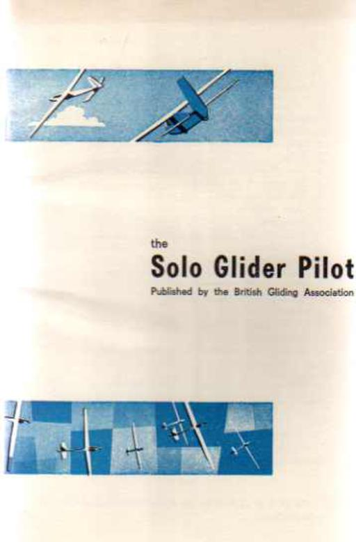 Image for The Solo Glider Pilot