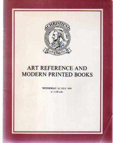 Image for Art Reference and Modern Printed Books