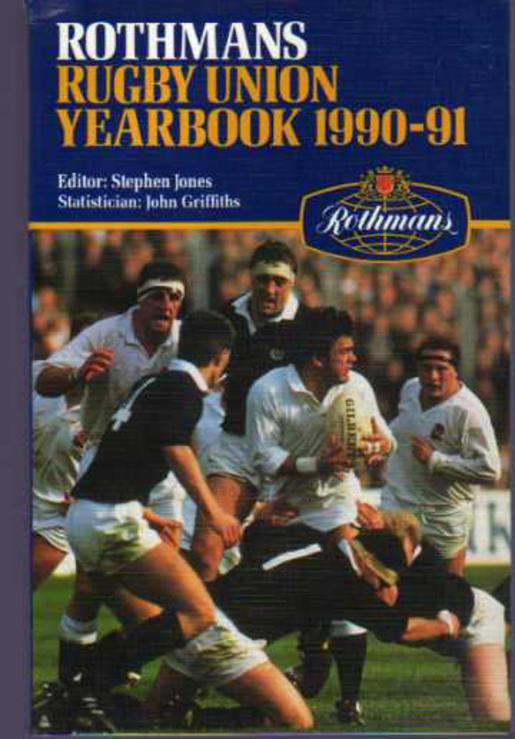 Image for Rothmans Rugby Union Year Book 1990-91