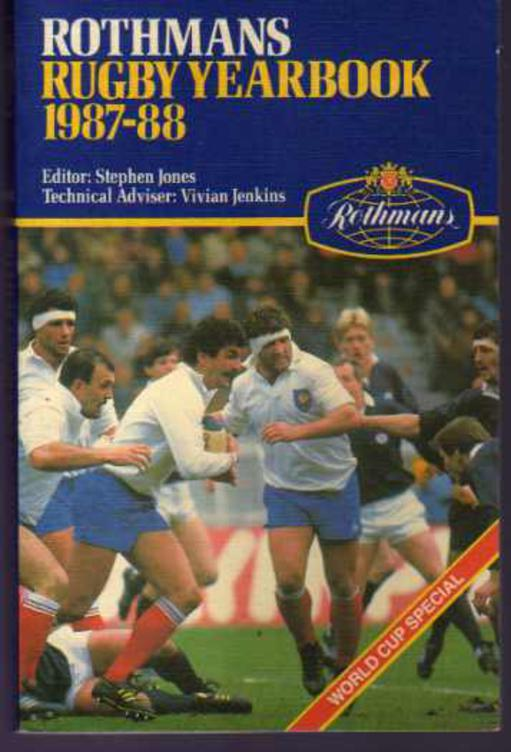 Image for Rothmans Rugby Yearbook 1987- 88