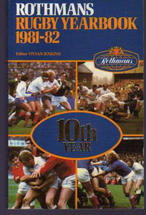 Image for Rothmans Rugby Yearbook 1981-82
