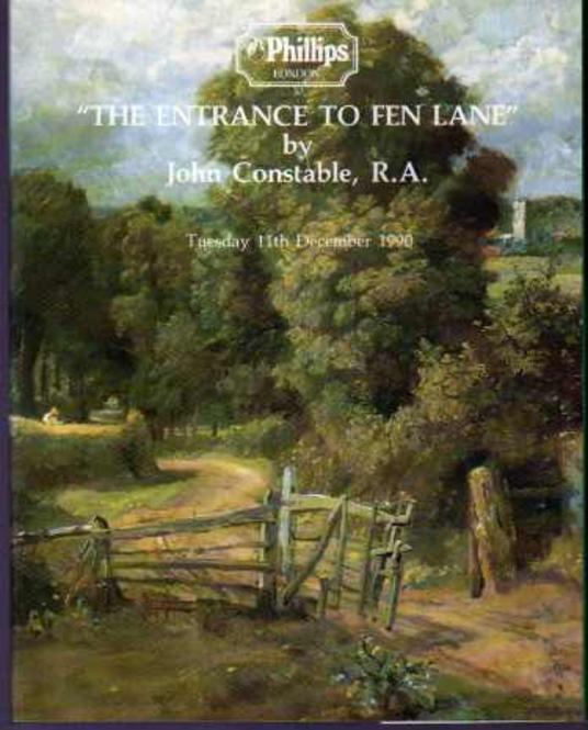 Image for The Entrance to Fen Lane By John Constable R.A.
