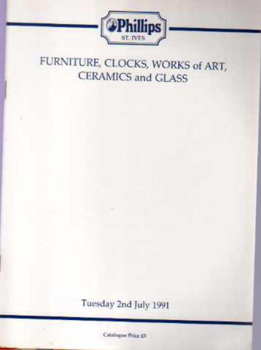 Image for Furniture, Clocks, Works of Art, Ceramics and Glass