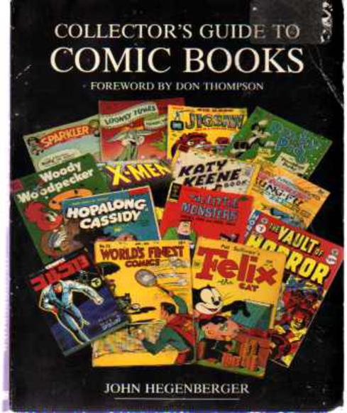 Image for A Collector's Guide to Comic Books