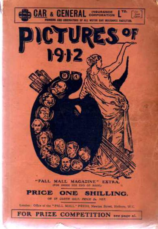 Image for The Pictures of 1912 - Pall Mall Magazine Extra