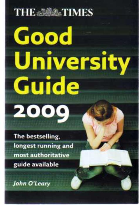 Image for The Times Good University Guide 2009