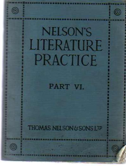 Image for Nelson's Literature Practise Part VI. - Non-Story Literature