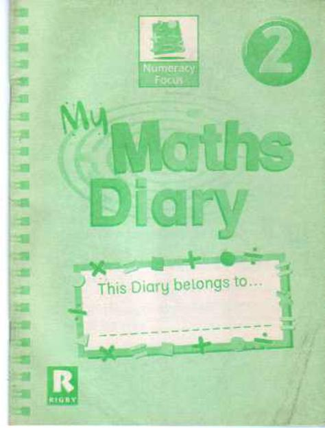 Image for Numeracy Focus Year 2, My Maths Diary
