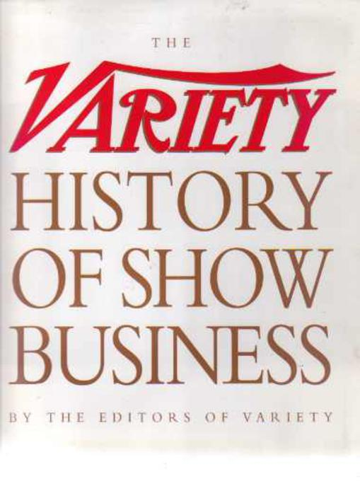 Image for The Variety History of Show Business